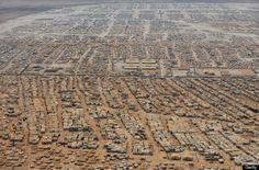 Zaatari Refugee Camp Photos Highlight Enormity Of Syria's Refugee Crisis