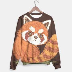 Red-Panda-look-back