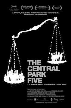 The Central Park Five, doc. by Burns & David McMahon