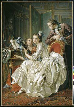 Conversation Musicale par Louis-Roland Trinquesse...