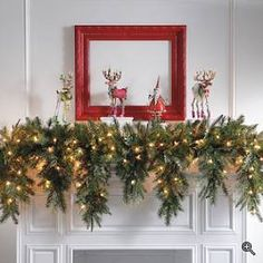 Holiday Mantel Decorating Ideas On Pinterest Mantels