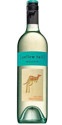 Yellow tail moscato, so light and sweet, perfect for after work : )