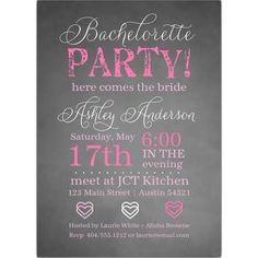 bachelorette party invitations - Google Search