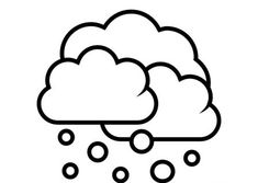 Black and white weather forecast icon for snow vector drawing Coloring Pages To Print, Coloring Pages For Kids, Coloring Books, Rain Clipart, Snow Vector, Weather Rain, Clipart Black And White, Books For Boys, Zen Doodle