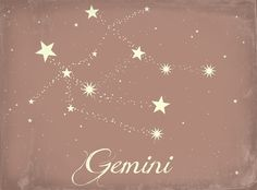 gemini constellation tattoo - Google Search