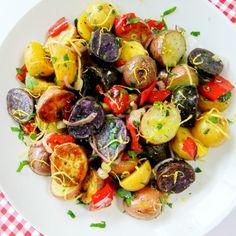 Red, White and Blue Potato Salad Recipe on Yummly. @yummly #recipe