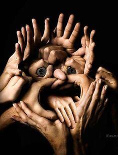 As mãos falam....