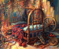 My lovely Armenian cradle.