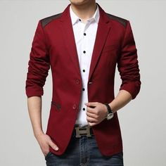 Contemporary 2-Button Exquisite Premium Blazer