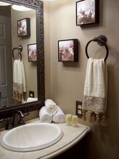 Neutral Guest Bathroom - Bathroom Designs - Decorating Ideas - HGTV Rate My Space