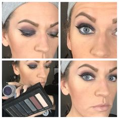 Yep........ first day with this palette...... kinda in love with it..... can't wait to keep working on looks with it! This months Kudos pretty much rocks!!! #sparklefacedbeauty #makeuptutorial #makeupartist #makeup #makeuptalk #makeupinspiration #makeuplife #younique #anniversarykudos #kudos #ylifer #youniquemakeup #youniquepresenter #youniquelove