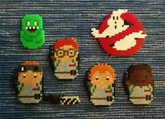 RAY,EGON,PETER,WINSTON(GHOSTBUSTERS) HAMA MINI BY 80N111AX.