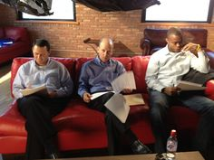 Prep time at the Dell Webcast on 6/27/12