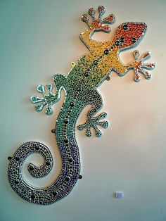 Free Mosaic Patterns | Gecko Mosaic Pattern Pic #23