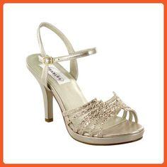 Dyeables Women's Leah Platform Sandal - Sandals for women (*Amazon Partner-Link)