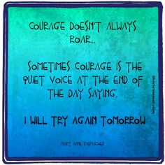 A post about #courage quotes (and why you're braver than you think)