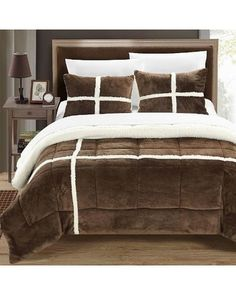 cuddl duds sherpa comforter set | home ideas | pinterest