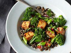 Teriyaki Tofu Broccolette Recipe   Everywhere - DailyCandy