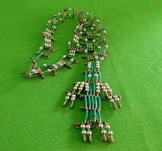 Vintage Safety Pin Necklace Item 1795 by LaylaBaylaJewelry on Etsy