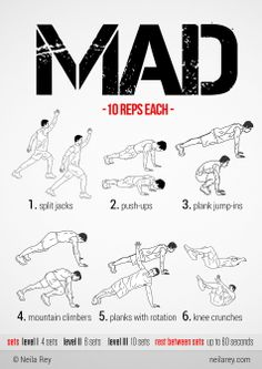 Mad Circuit Workout