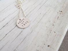 Awake My Soul Necklace by SparrowAndLilyShop on Etsy