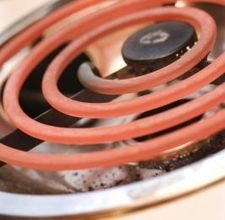 How to clean stove burner pans with baking soda or vinegar...