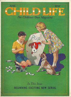 Child Life magazine by cluttershop, via Flickr