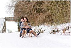 Paarshooting im Winter in Waidhofen/Ybbs Winter, Outdoor, Outdoors, Outdoor Life, Garden, Winter Fashion