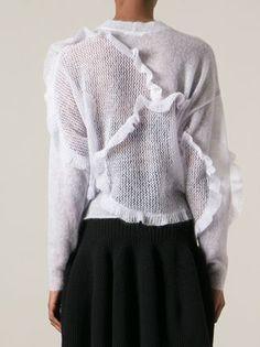 Chloé Ruffled Panel Sweater - Stefania Mode - Farfetch.com