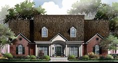 This 1 story Cottage features 2244 sq feet. Call us at 866-214-2242 to talk to a House Plan Specialist about your future dream home!