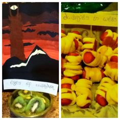Clever food choices for a Hobbit/LOTR party