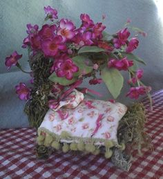 miniature fairy beds - Google Search