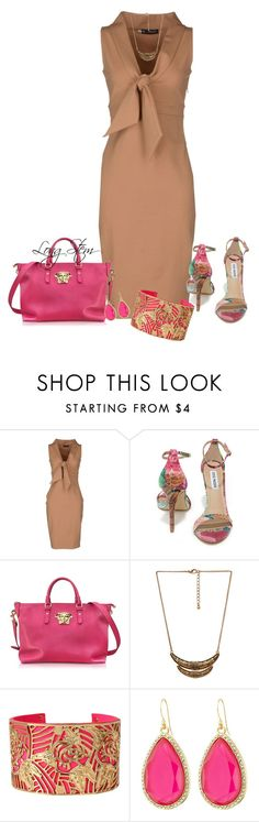 """7/28/15"" by longstem ❤ liked on Polyvore featuring Dsquared2, Steve Madden, Versace, Forever 21, Betsey Johnson and Kate Spade"