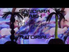 2NE1 Sandara {산다라} Palm Tree Hair Tutorial | MinjiVanPark *Funny ^.^