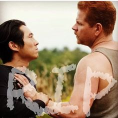 RIP ~ The Walking Dead ~ Glenn & Abraham