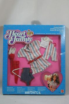 Barbie The Heart Family hiking outfit fashion no. 2621 from 1985 by Mattel NRFB in Dolls & Bears, Dolls, Barbie Contemporary (1973-Now)   eBay