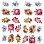 Bouquets free crochet pattern