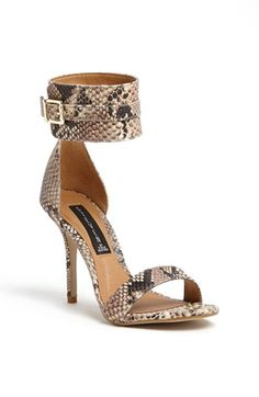 Steven by Steve Madden 'Mauryce' Sandal available at #Nordstrom  Will go with everything!  Shown on the CAbi Spring '14 runway.