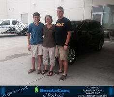 https://flic.kr/p/KU5Mmy | #HappyBirthday to Sara And Richard from Jim Rutelonis at Honda Cars of Rockwall! | deliverymaxx.com/DealerReviews.aspx?DealerCode=VSDF