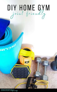 The complete guide to start your own home gym and exercise at home   bull  Coach Sofia Fitness DIY and start your own home gym. Figure out what equipments and recovery tools you need to start your home gym exercise at home without hurting yourself.