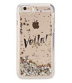 kate spade new york Liquid Glitter Voila iPhone 7 Case #Dillards
