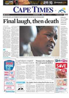 News making headlines: Final laugh, then death