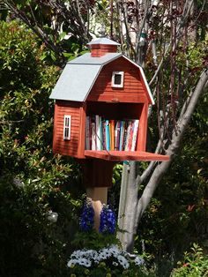 Makes a great Little Free Library.