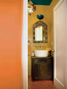 14 Interesting Moroccan Bathroom Vanity Designer