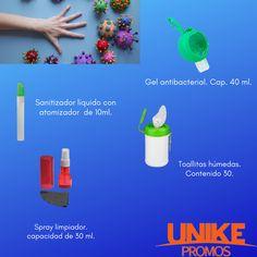 ¿Ya tienes todo lo necesario para la nueva normalidad? 😷 Pregunta por nuestros productos, Unikepromos se preocupa por ti. Plastic Cutting Board, Wet Wipe, Cleanser, Towels, Products