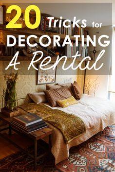 20 Tricks for Decorating a Rental