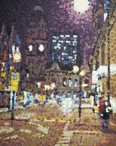"Saatchi Art Artist Andrew Francis; Painting, ""Leopold Street, Sheffield"" #art"