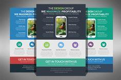 Check out Flat Design Business Flyer by ultimatebundles on Creative Market