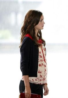 """RED, WHITE AND BLAIR!  Season 1 Ep 3 """"Poison Ivy"""" As the episode concludes, Blair finds Serena under the Bethesda Terrace and the pair make-up after weeks of fighting! PS You'll probably never see Blair in jeans again after this episode! XOXOE"""