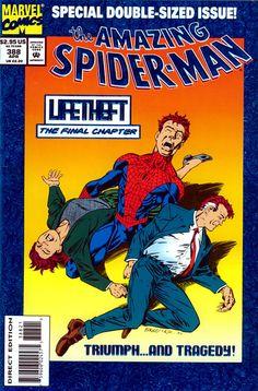 Amazing Spider-Man # 388 by Mark Bagley & Randy Emberlin